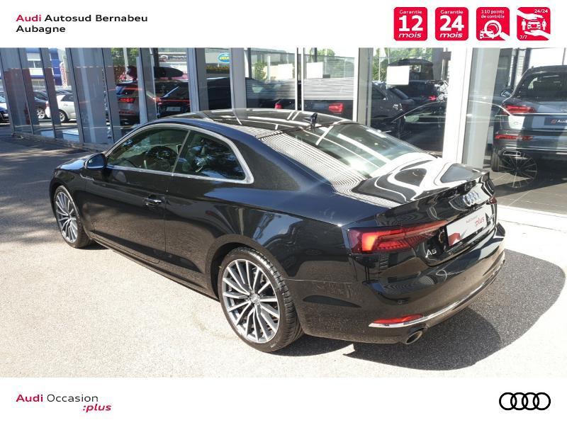 Audi A5 COUPE NF 2.0 TFSI 190 DESIGN LUXE STRONIC 7 Noir occasion à Aubagne - photo n°3
