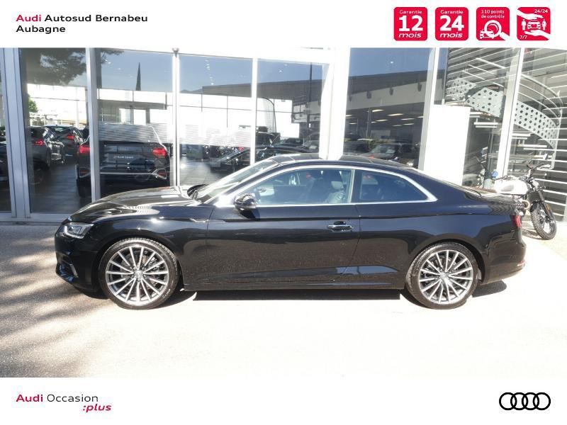 Audi A5 COUPE NF 2.0 TFSI 190 DESIGN LUXE STRONIC 7 Noir occasion à Aubagne - photo n°2