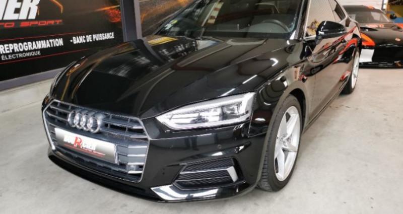 Audi A5 Coupe Noir occasion à Saint-barthélemy-d'anjou - photo n°5