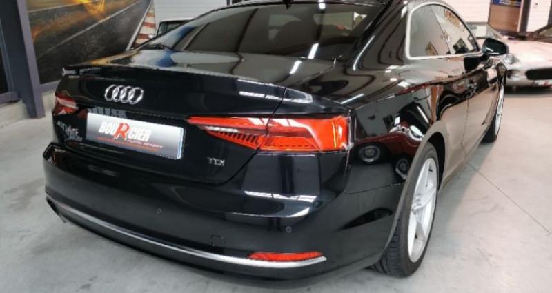 Audi A5 Coupe Noir occasion à Saint-barthélemy-d'anjou - photo n°4
