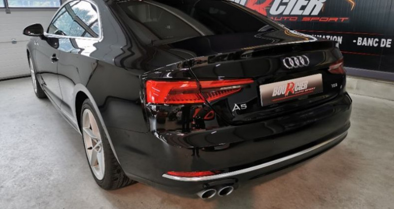 Audi A5 Coupe Noir occasion à Saint-barthélemy-d'anjou - photo n°3