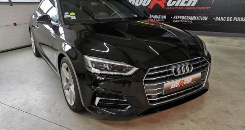 Audi A5 Coupe Noir occasion à Saint-barthélemy-d'anjou - photo n°2
