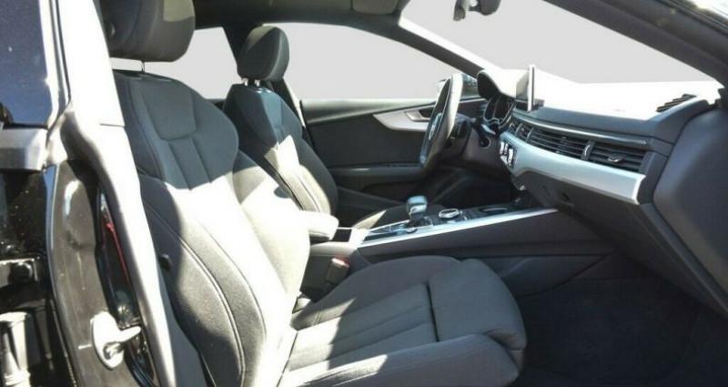 Audi A5 II 2.0 TFSI 252ch S line S tronic 7 Noir occasion à Boulogne-Billancourt - photo n°5