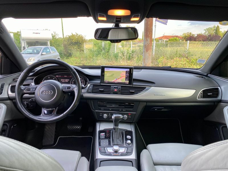 Audi A6 Allroad Quattro 3.0 BiTDI 313ch Avus quattro Tiptronic Noir occasion à Castelmaurou - photo n°6