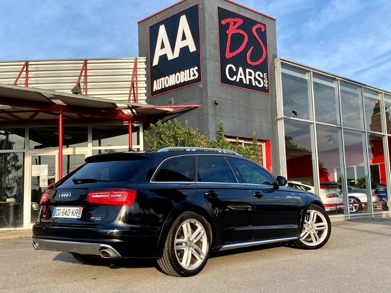 Audi A6 Allroad Quattro 3.0 BiTDI 313ch Avus quattro Tiptronic Noir occasion à Castelmaurou - photo n°2