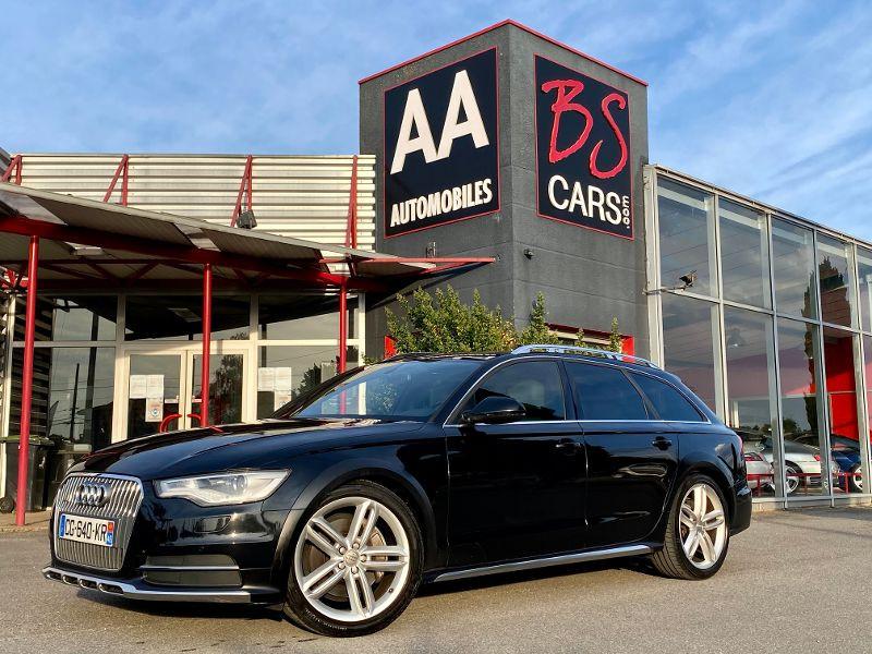 Audi A6 Allroad Quattro 3.0 BiTDI 313ch Avus quattro Tiptronic Noir occasion à Castelmaurou