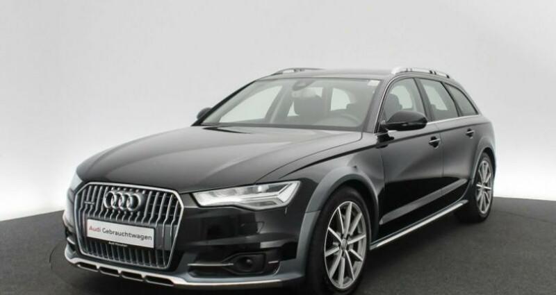 Audi A6 Allroad 3.0 BiTDI 320 Quattro Noir occasion à Boulogne-Billancourt