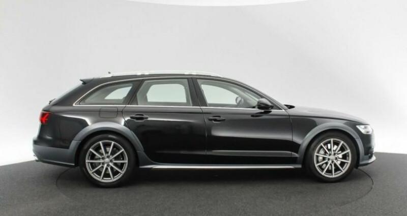 Audi A6 Allroad 3.0 BiTDI 320 Quattro Noir occasion à Boulogne-Billancourt - photo n°4