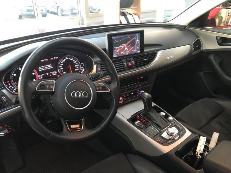 Audi A6 Allroad 3.0 TDI Quattro 218 Rouge occasion à Beaupuy - photo n°2