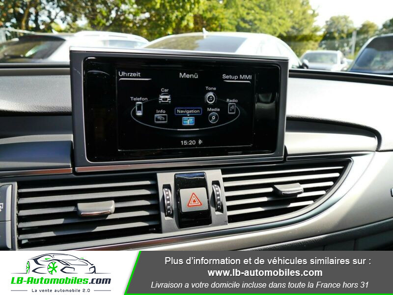 Audi A6 Allroad 3.0 TDI Quattro 218 Bleu occasion à Beaupuy - photo n°6