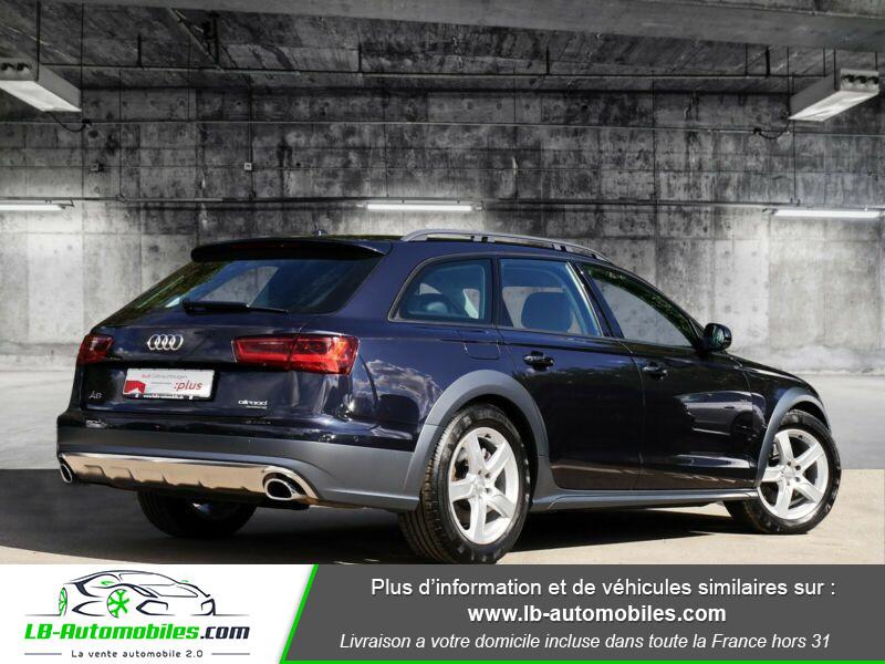 Audi A6 Allroad 3.0 TDI Quattro 218 Bleu occasion à Beaupuy - photo n°3