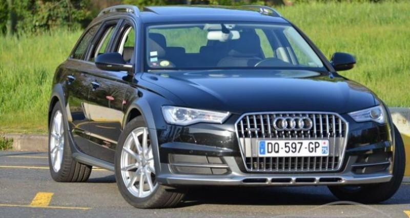 Audi A6 Allroad 3.0 TDI S-TRONIC QUATTRO Noir occasion à PARIS - photo n°2
