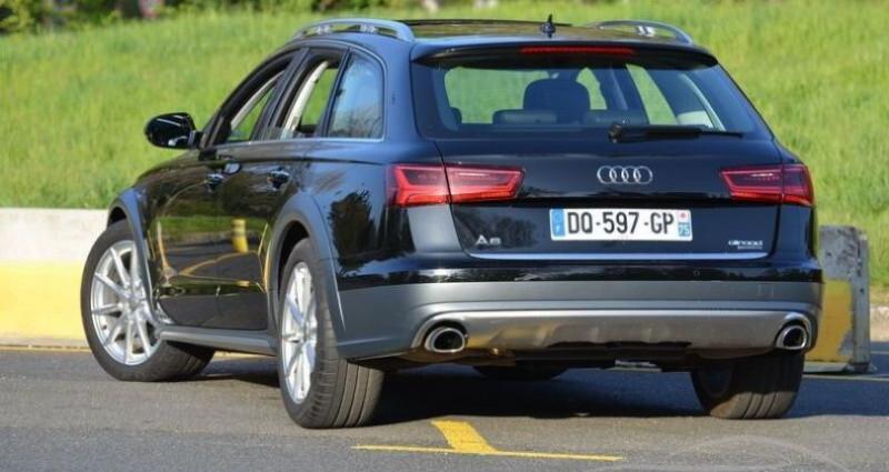 Audi A6 Allroad 3.0 TDI S-TRONIC QUATTRO Noir occasion à PARIS - photo n°4