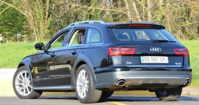 Audi A6 Allroad 3.0 TDI S-TRONIC QUATTRO Noir occasion à PARIS - photo n°3