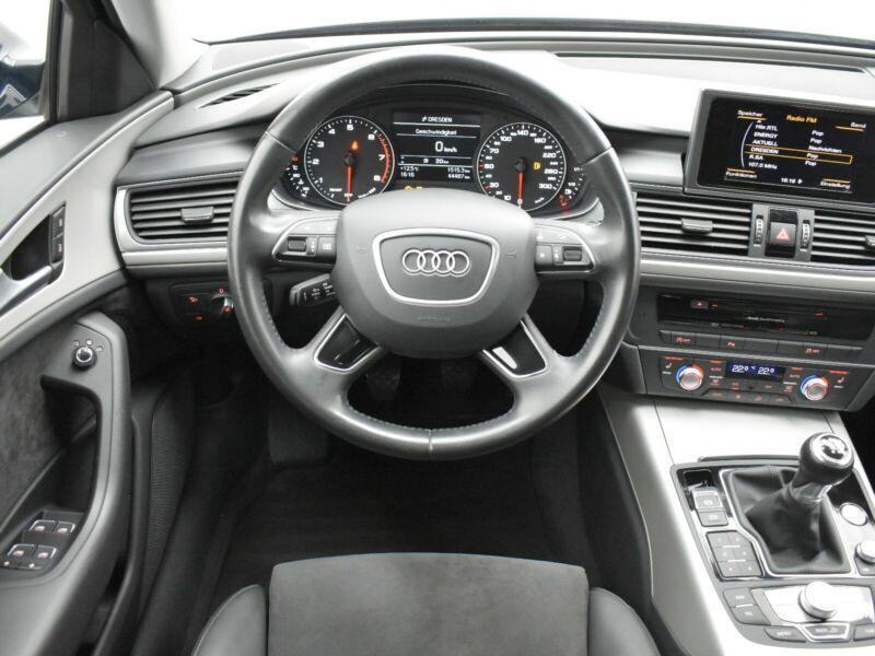 Audi A6 Avant 1.8 TFSI 190 Bleu occasion à Beaupuy - photo n°2