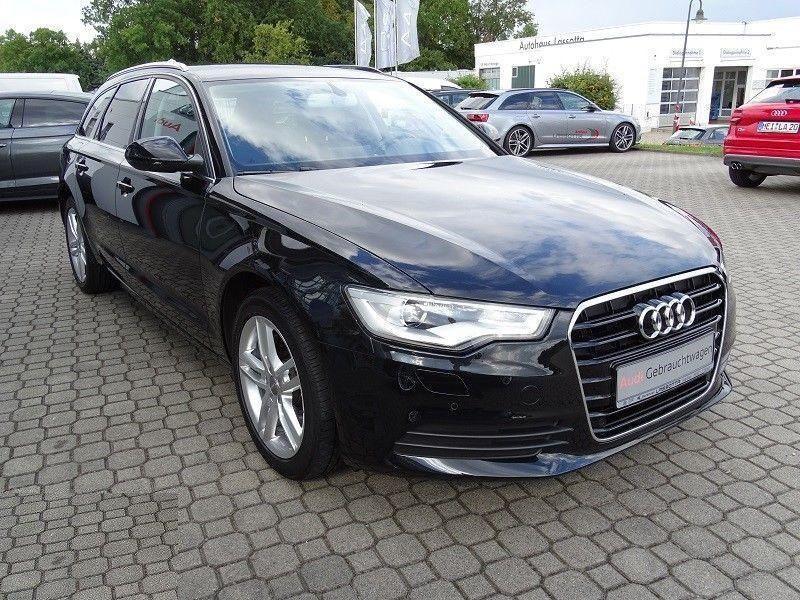 Audi A6 Avant 2.0 TDI 177 Noir occasion à Beaupuy - photo n°9