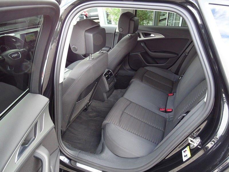 Audi A6 Avant 2.0 TDI 177 Noir occasion à Beaupuy - photo n°6
