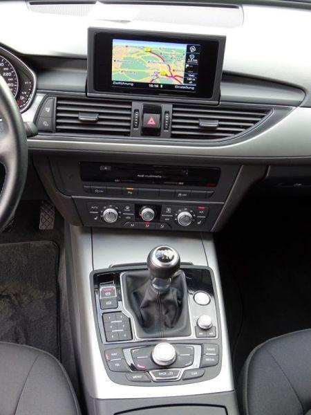 Audi A6 Avant 2.0 TDI 177 Noir occasion à Beaupuy - photo n°7