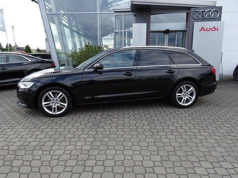 Audi A6 Avant 2.0 TDI 177 Noir occasion à Beaupuy - photo n°8