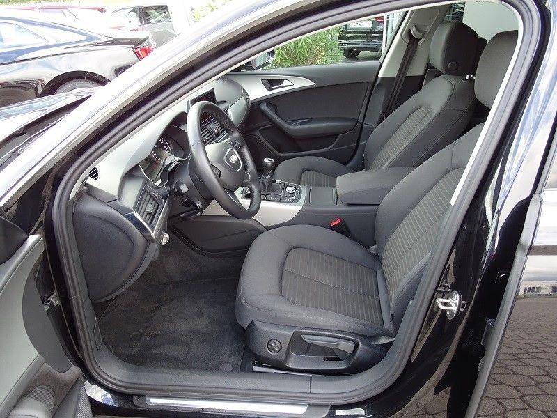 Audi A6 Avant 2.0 TDI 177 Noir occasion à Beaupuy - photo n°4