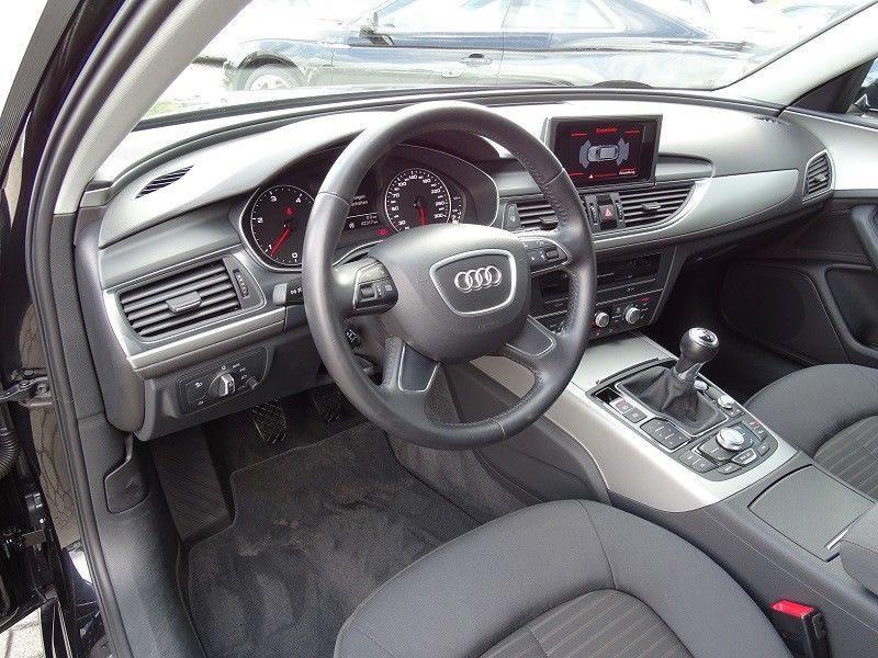 Audi A6 Avant 2.0 TDI 177 Noir occasion à Beaupuy - photo n°5