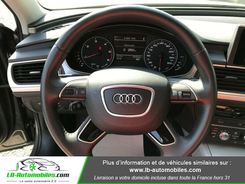 Audi A6 Avant 2.0 TDI 190 Gris occasion à Beaupuy - photo n°13