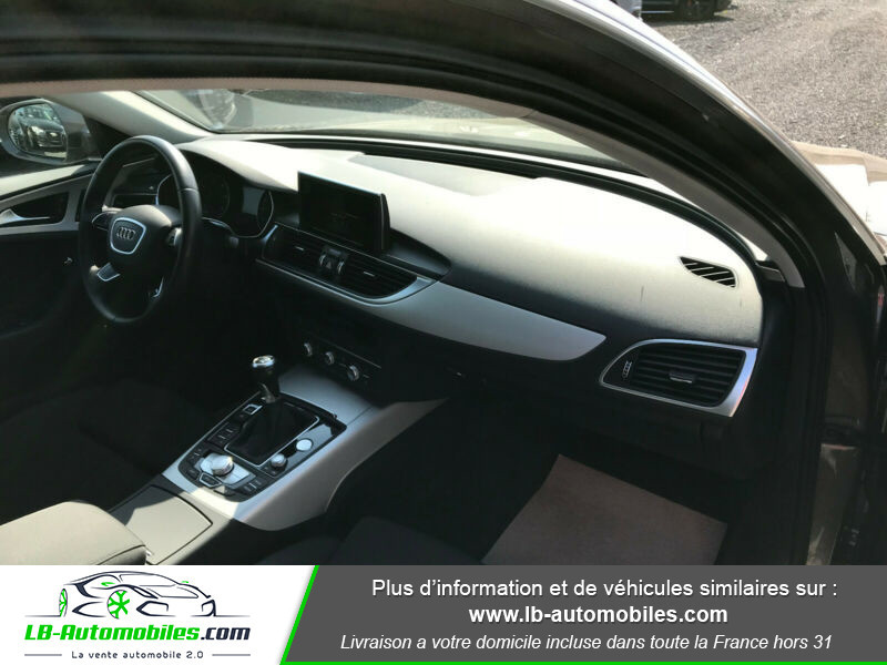 Audi A6 Avant 2.0 TDI 190 Gris occasion à Beaupuy - photo n°12