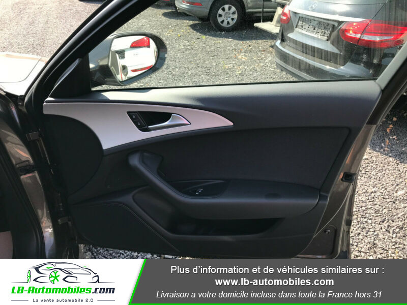 Audi A6 Avant 2.0 TDI 190 Gris occasion à Beaupuy - photo n°8