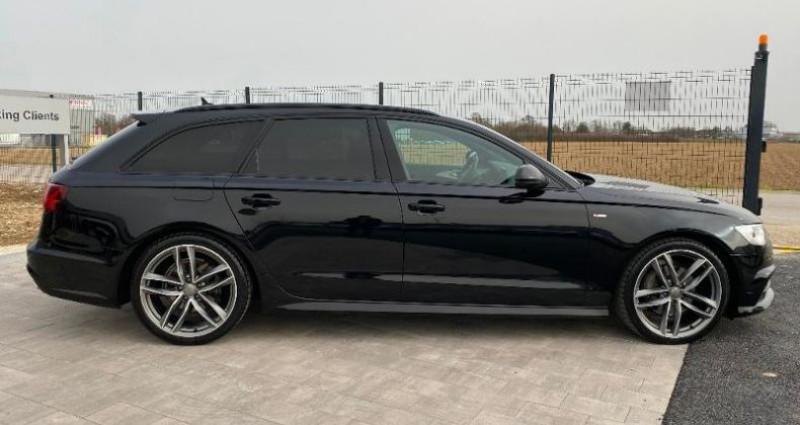 Audi A6 Avant 2.0 TDI 190ch S line quattro S tronic 7 Noir occasion à BARBEREY SAINT SULPICE - photo n°3