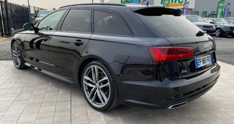 Audi A6 Avant 2.0 TDI 190ch S line quattro S tronic 7 Noir occasion à BARBEREY SAINT SULPICE - photo n°6