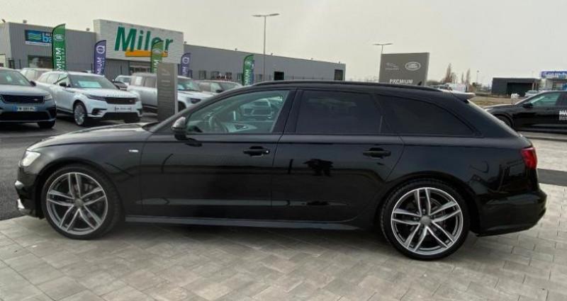 Audi A6 Avant 2.0 TDI 190ch S line quattro S tronic 7 Noir occasion à BARBEREY SAINT SULPICE - photo n°7