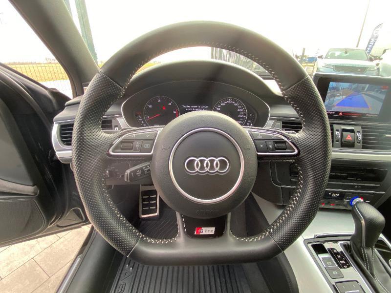 Audi A6 Avant 2.0 TDI 190ch S line quattro S tronic 7 Noir occasion à Barberey-Saint-Sulpice - photo n°14
