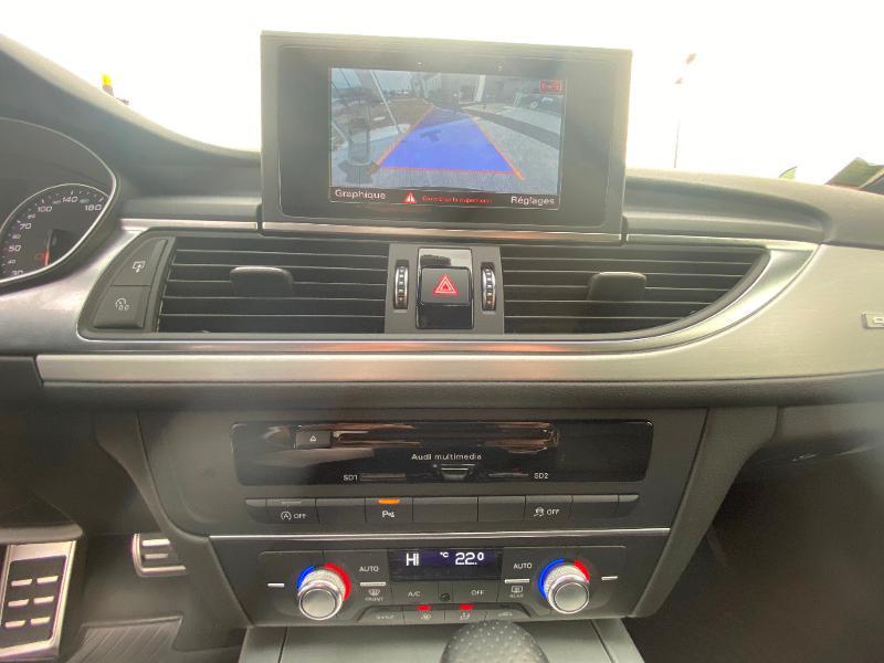 Audi A6 Avant 2.0 TDI 190ch S line quattro S tronic 7 Noir occasion à Barberey-Saint-Sulpice - photo n°15