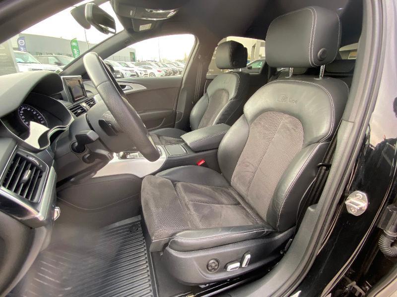 Audi A6 Avant 2.0 TDI 190ch S line quattro S tronic 7 Noir occasion à Barberey-Saint-Sulpice - photo n°11