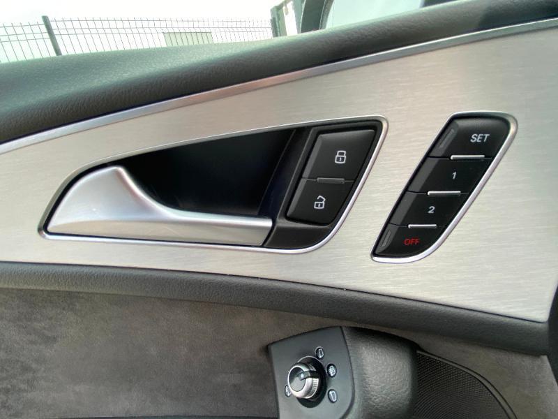 Audi A6 Avant 2.0 TDI 190ch S line quattro S tronic 7 Noir occasion à Barberey-Saint-Sulpice - photo n°13