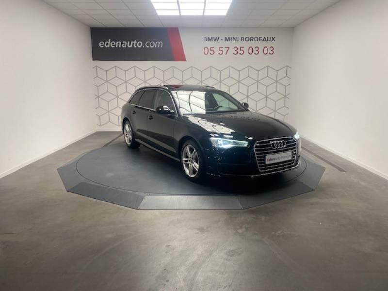 Audi A6 Avant 2.0 TDI ultra 190 S tronic 7 Avus Noir occasion à Lormont - photo n°2