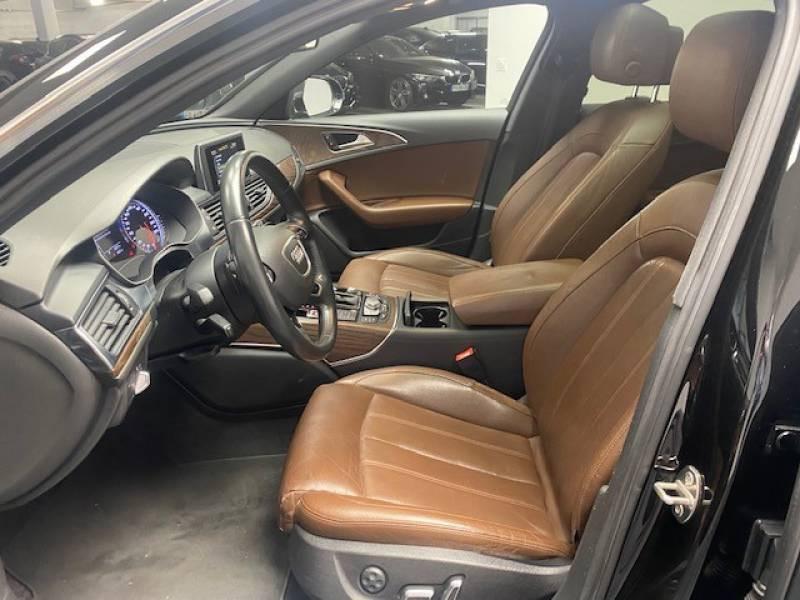 Audi A6 Avant 2.0 TDI ultra 190 S tronic 7 Avus Noir occasion à Lormont - photo n°9