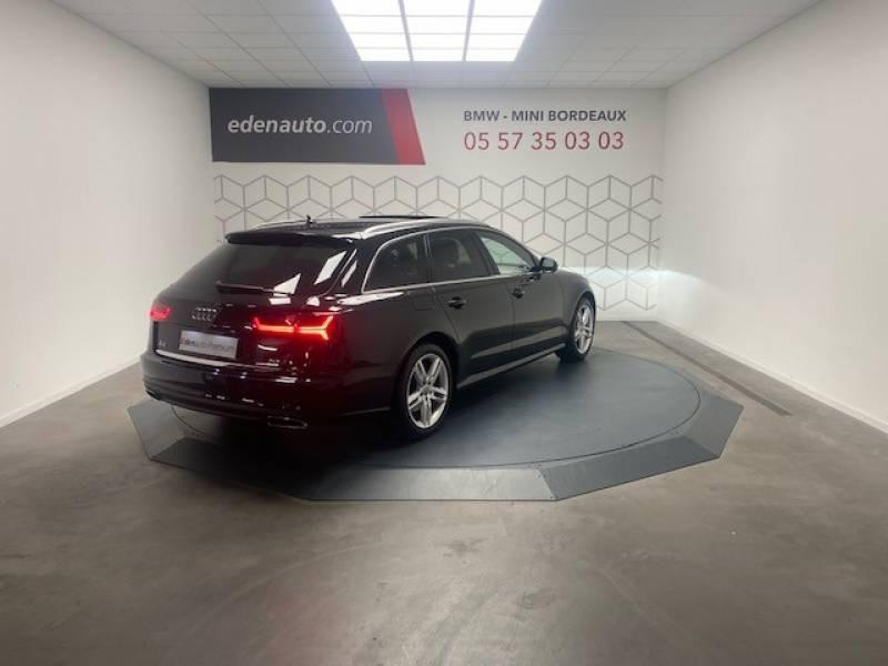 Audi A6 Avant 2.0 TDI ultra 190 S tronic 7 Avus Noir occasion à Lormont - photo n°7