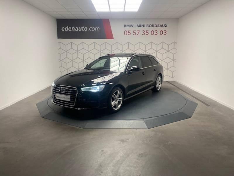 Audi A6 Avant 2.0 TDI ultra 190 S tronic 7 Avus Noir occasion à Lormont
