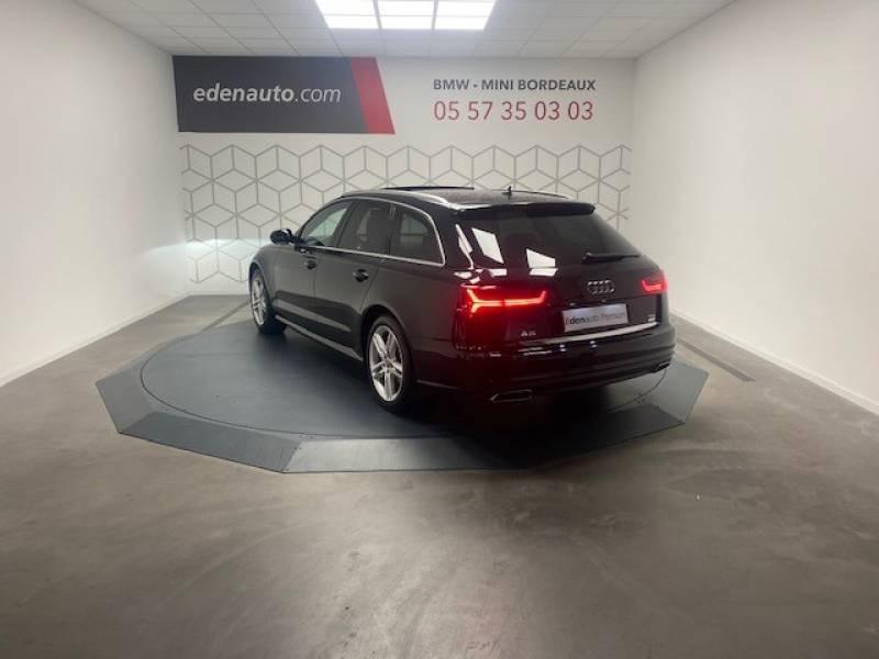 Audi A6 Avant 2.0 TDI ultra 190 S tronic 7 Avus Noir occasion à Lormont - photo n°5