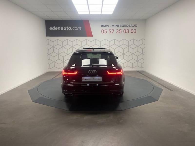 Audi A6 Avant 2.0 TDI ultra 190 S tronic 7 Avus Noir occasion à Lormont - photo n°6