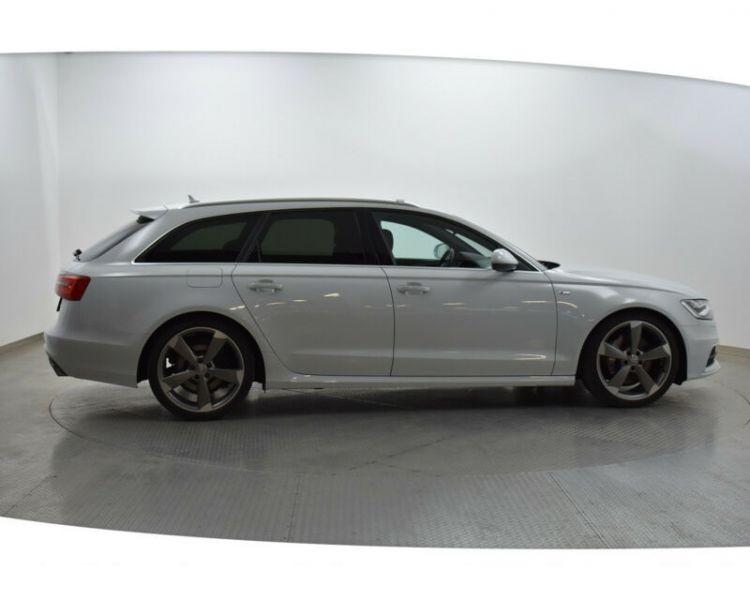 Audi A6 Avant 3.0 BiTDI Quattro 313 S-Line Blanc occasion à Beaupuy - photo n°8