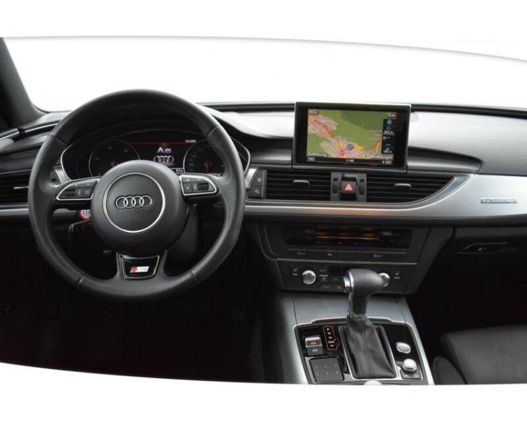 Audi A6 Avant 3.0 BiTDI Quattro 313 S-Line Blanc occasion à Beaupuy - photo n°2