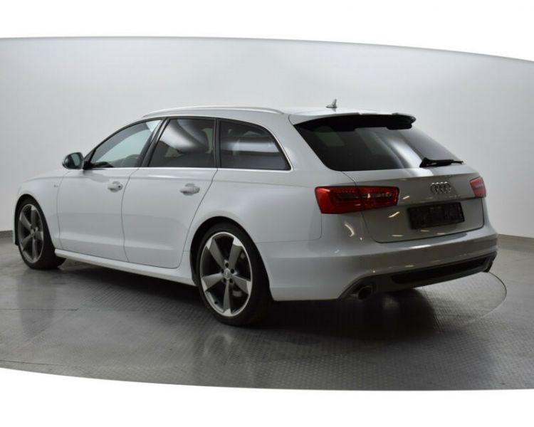 Audi A6 Avant 3.0 BiTDI Quattro 313 S-Line Blanc occasion à Beaupuy - photo n°3