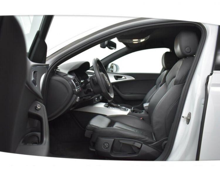 Audi A6 Avant 3.0 BiTDI Quattro 313 S-Line Blanc occasion à Beaupuy - photo n°4