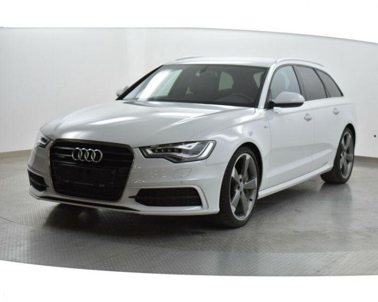 Audi A6 Avant 3.0 BiTDI Quattro 313 S-Line Blanc occasion à Beaupuy