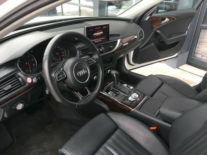 Audi A6 Avant 3.0 TDI Quattro 272 Blanc occasion à Beaupuy - photo n°4