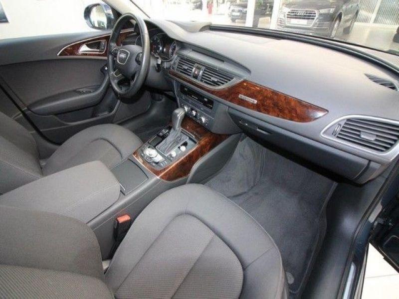 Audi A6 Avant 3.0 TDI Quattro 272 Bleu occasion à Beaupuy - photo n°4