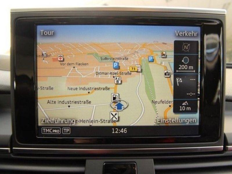 Audi A6 Avant 3.0 TDI Quattro 272 Bleu occasion à Beaupuy - photo n°8