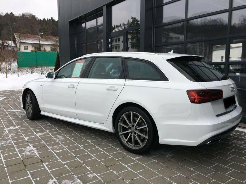 Audi A6 Avant 3.0 TDI Quattro 272 Blanc occasion à Beaupuy - photo n°3